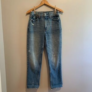 A&F Mom Jeans